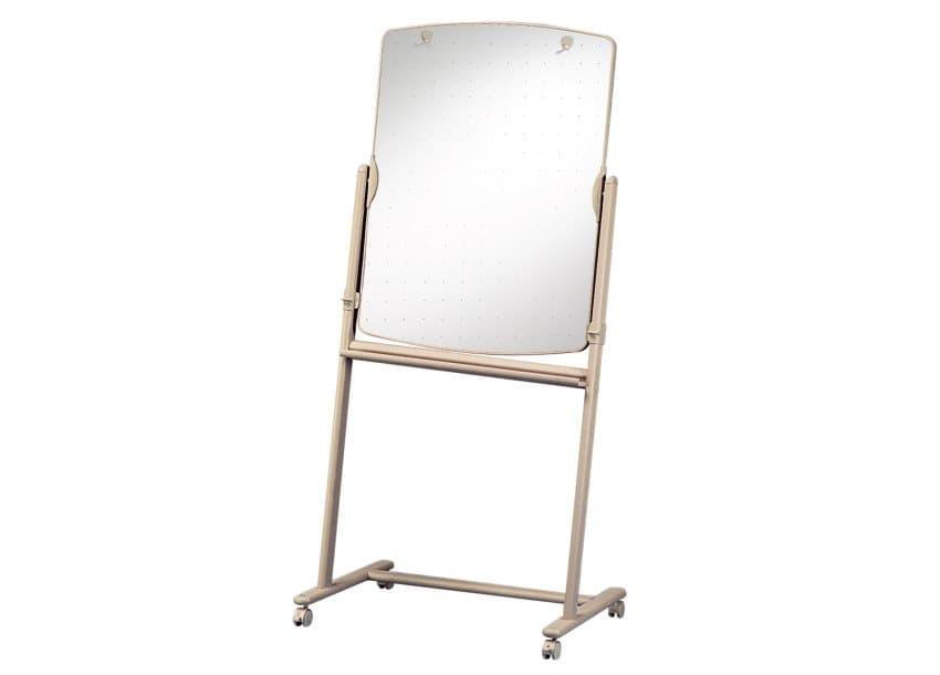 "Quartet® Reversible Total Erase® Mobile Easel, Whiteboard, 31"" x 41"", Neutral Frame (2)"