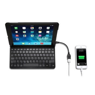 Integrated Bluetooth® Keyboard