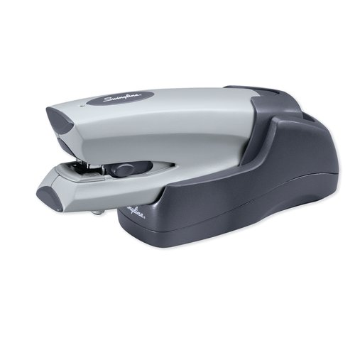 Swingline® Cordless Rechargeable Electric Stapler, 20 Sheets, Silver
