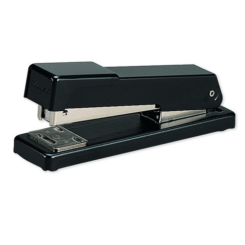 Swingline® Compact Desk Stapler, 20 Sheets, Black, 1000 Staples Included