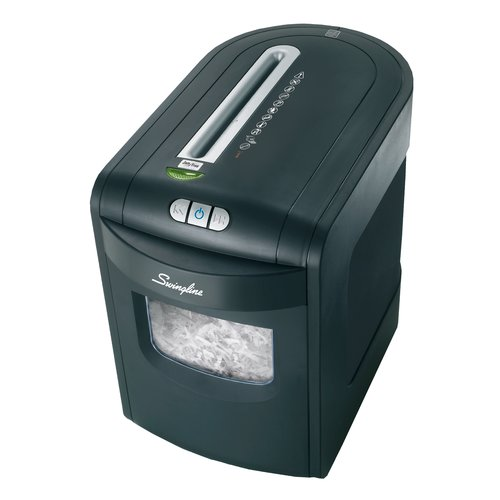 Swingline® EX10-06 Cross-Cut Jam Free Shredder, 10 sheets, 1-2 Users