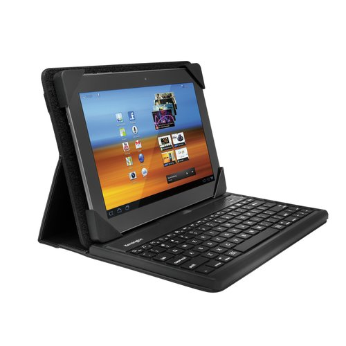 "KeyFolio™ Pro Universal Removable Bluetooth® Keyboard Case for 10"" Tablets"