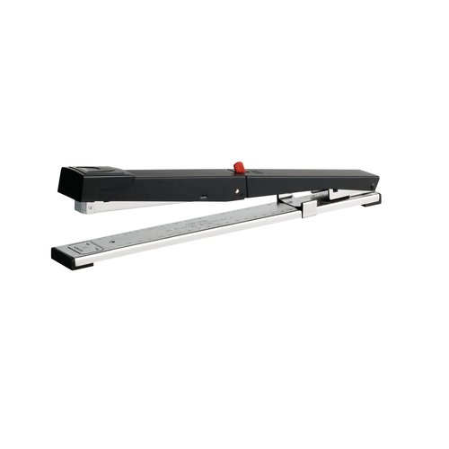 Long Arm Full Strip Stapler Black/Chrome