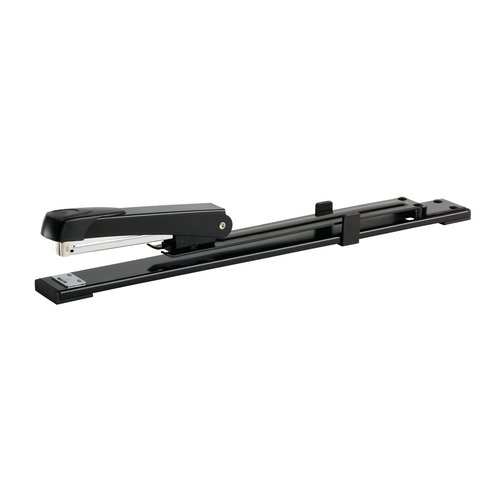 Long Reach Full Strip Stapler Black