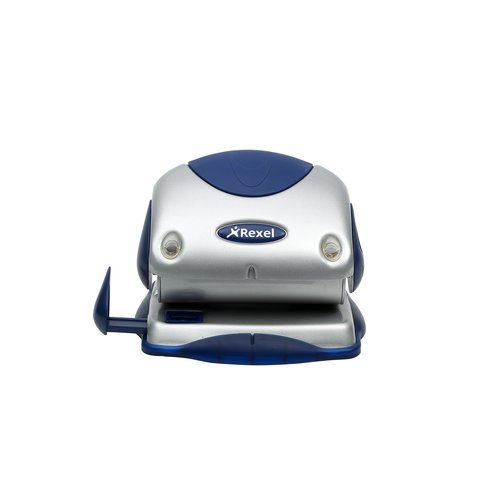 Precision 215 2 Hole Punch Silver/Blue