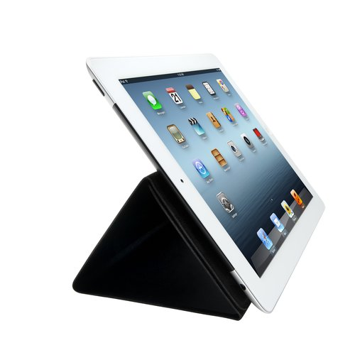 Folio Expert Cover Stand for iPad® 4th & 3rd gen - Black