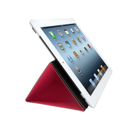 Folio Expert Cover Stand for iPad® 4th gen & 3rd gen - Red