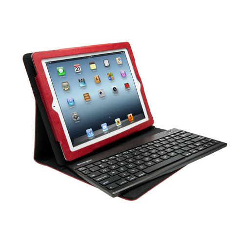 KeyFolio™ Pro 2 Removable Keyboard, Case & Stand- Red