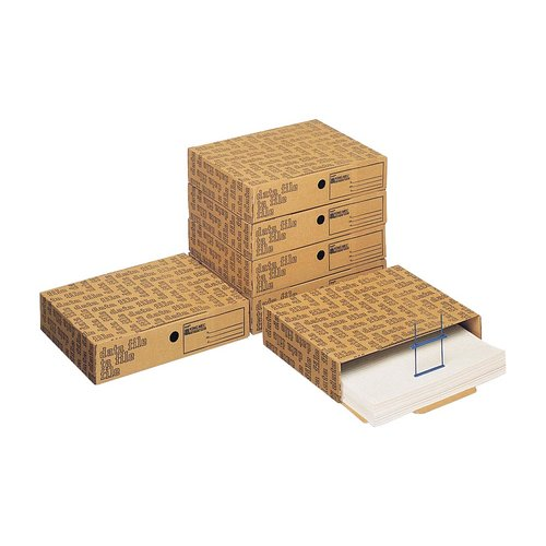 Data File Scatola Archivio Modulare Componibile Avana