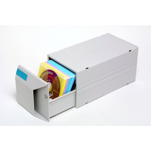CD Drawer With Sleeves - Capacity 75