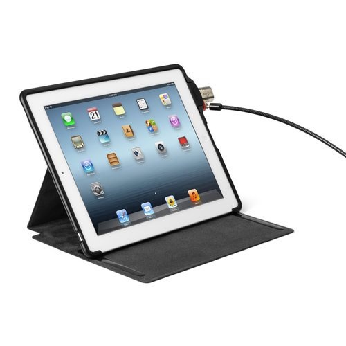 Folio SecureBack™ Protective Case & Lock - New iPad & iPad2