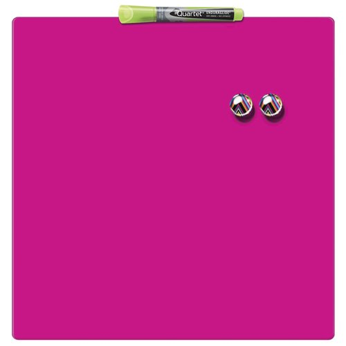Quartet Magnetic Square Tile Pink 360x360mm