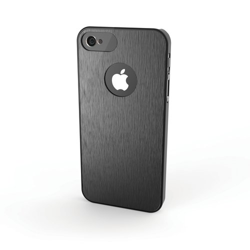 Aluminum Finish Case for iPhone® 5  - Black