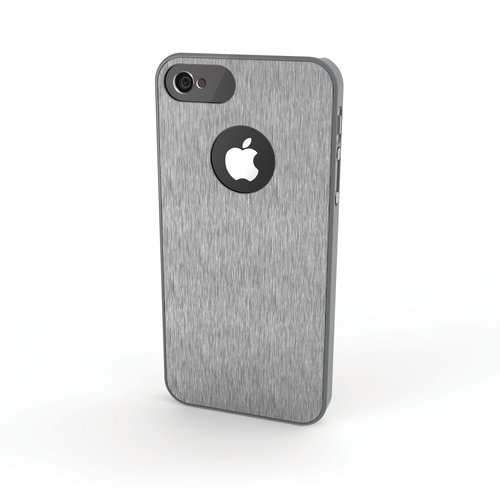 Aluminum Finish Case for iPhone® 5 - Grey