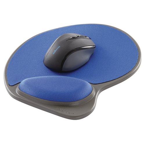 Kensington® Memory Foam Mouse Wrist Pillow® - Blue