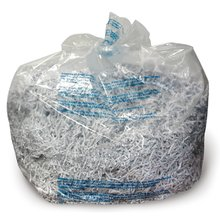 GBC 6-8 Gallon Plastic Shredder Bags, For Small Office, Executive, Personal, 200X and 230X Shredders, 100/Box