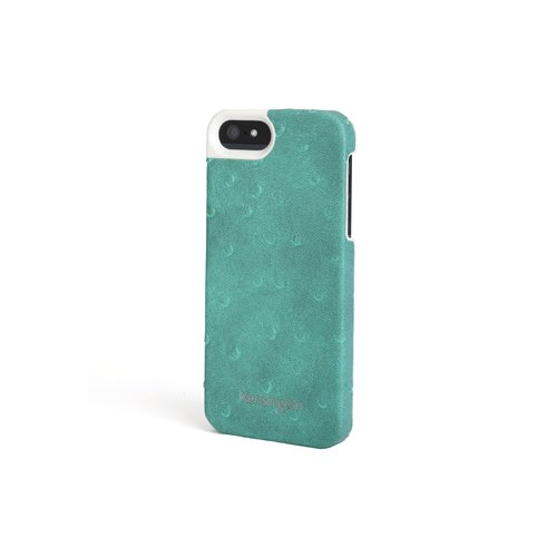 Leather Texture Case for iPhone® 5 - Teal