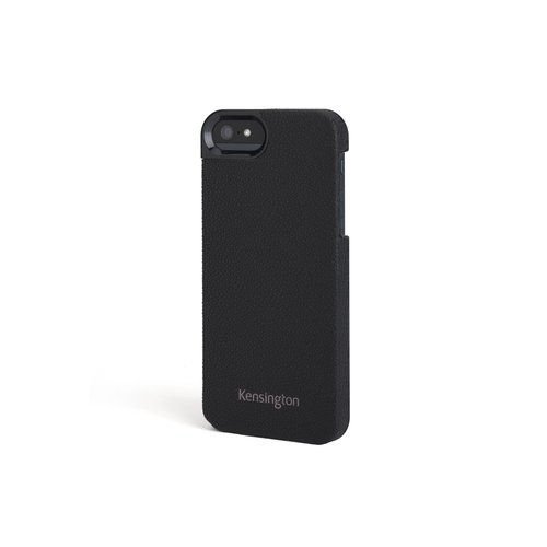 Leather Texture Case for iPhone® 5 - Black