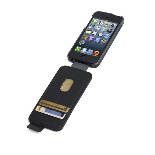 Portafolio™ Flip Wallet for iPhone® 5 - Black Marble