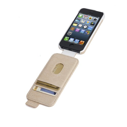 Portafolio™ Flip Wallet for iPhone® 5/5s - Coffee Snake