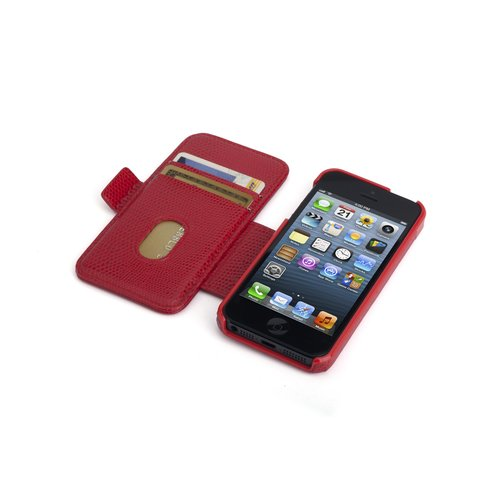 Portafolio Duo™ Wallet for iPhone® 5 - Red Snake