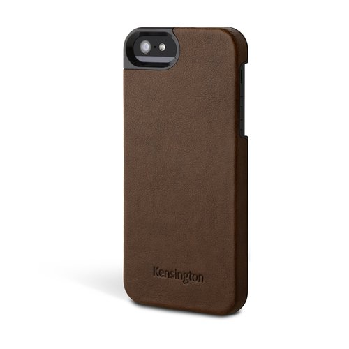 Leather Texture Case for iPhone® 5 - Brown