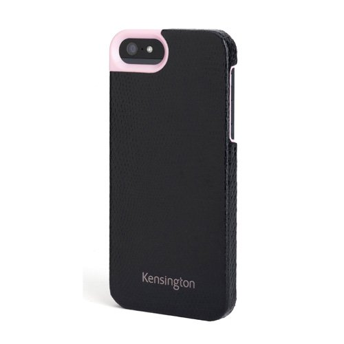Leather Texture Case for iPhone® 5 - Black Snake