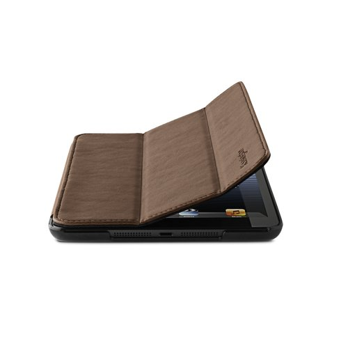 Protective Cover & Stand for iPad® mini - Brown Marble