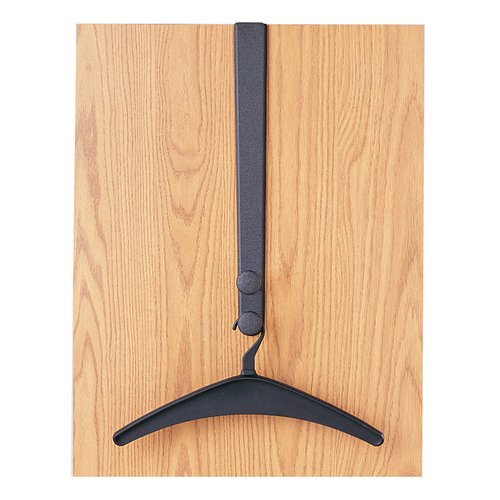Quartet® Over-the-Door Hook, Double Posts, 1 Hanger Included, Black