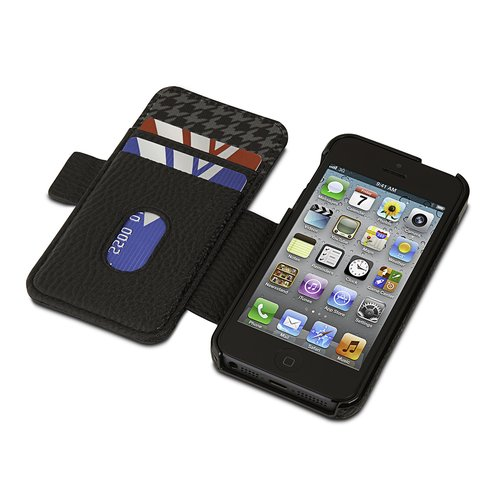 Portafolio Duo™ Wallet for iPhone® 5/5s - Black