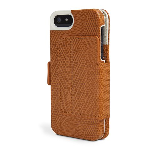 Portafolio Duo™ Wallet for iPhone® 5 Orange Snake