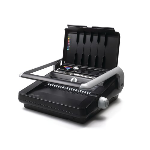 Swingline™ GBC® CombBind® C340 Precision Punch Manual Binding System, Binds 450 Sheets, Punches 25