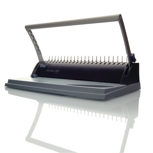 Swingline™ GBC® BindMate™ Personal CombBind® & 3-Hole Punch System, Binds 130 Sheets, Punches 8 Sheets