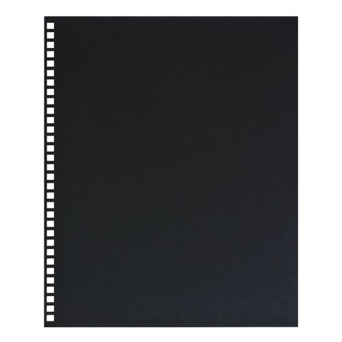 GBC Regency Premium Presentation Covers, Pre-Punched for ProClick, 32 Hole, Square Corners, Black, 25 Pack (2514478)