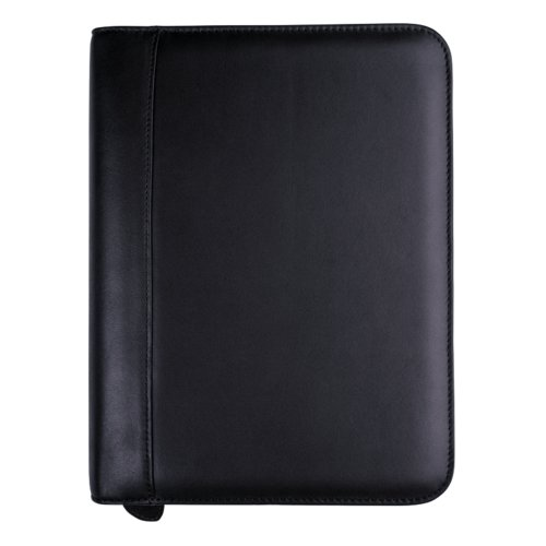 Desk size - Verona Leather Binder - 38mm Zippered