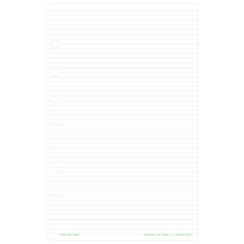Desk size - Lined Note Pads