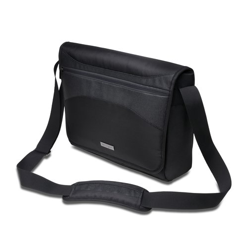 "Triple Trek™ Ultrabook™ Optimized Messenger Bag - 14""/35.6cm - Black"