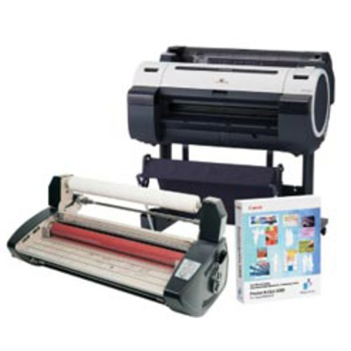 "GBC® and Canon® 24"" Educator Laminator and Printer Bundle"