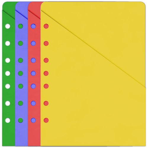 Folio size - Slash File Pockets