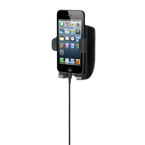 SoundWave™ Sound Amplifying Car Mount with Charger for iPhone®