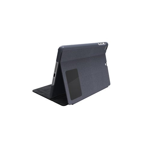 Comercio™ Hard Folio Case & Adjustable Stand for iPad® Air - Slate Grey