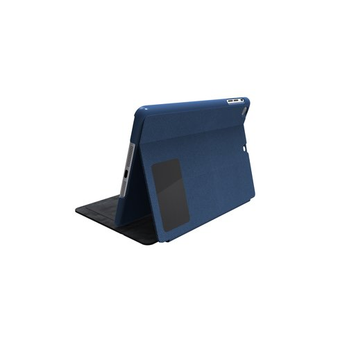 Comercio™ Hard Folio Case & Adjustable Stand for iPad® Air - Blue