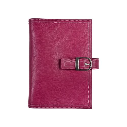 Portable size - Malibu Leather Binder - Snap-Tab