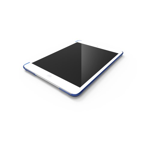 CornerCase™ Corner & Back Protection for iPad® Air - Blue Transparent