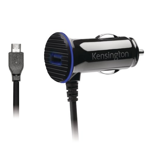 Chargeur rapide double pour voiture PowerBolt™ 3.4 avec câble micro USB