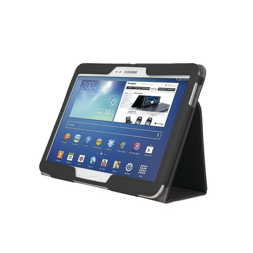 Comercio™ Soft Folio Case & Stand for Galaxy Tab® 3 10.1 - Black