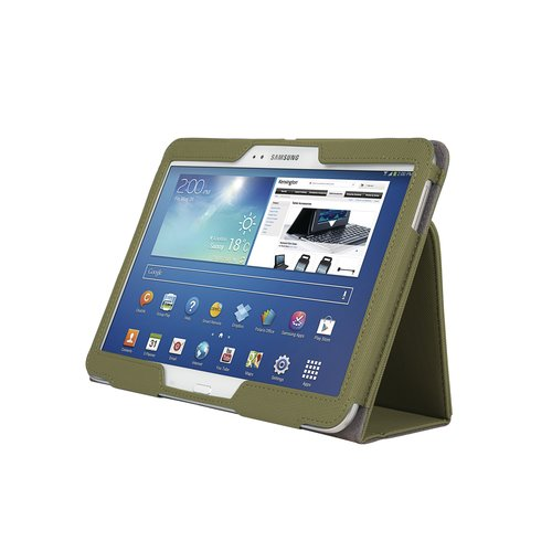 Comercio™ Soft Folio Case & Stand for Galaxy Tab® 3 10.1 - Olive