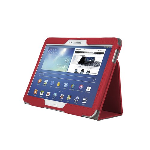 Comercio™ Soft Folio Case & Stand for Galaxy Tab® 3 10.1 - Red