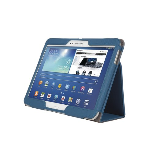 Comercio™ Soft Folio Case & Stand for Galaxy Tab® 3 10.1 - Blue