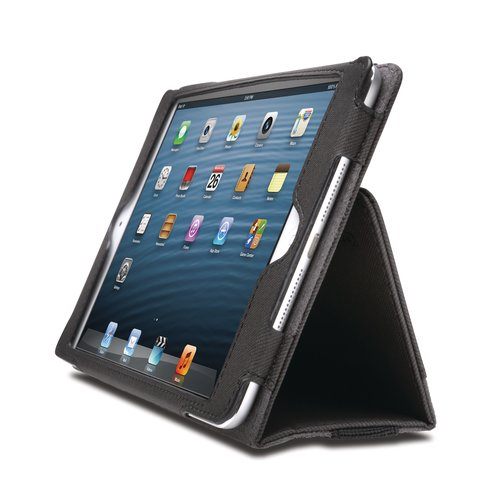 Funda flexible tipo libro Portafolio™ para iPad® mini- Negro